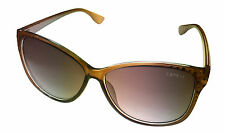 Esprit Sunglass Plastic Brown Butterfly w Crystals Brown Gradient Lens 19459 535