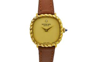Vintage Raymond Weil Geneve 684 Gold Plated Manual Wind Ladies Watch 2050