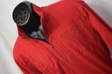 28906 Mens Armani Exchange AX Red Zip Neck Designer Sweater Size XL