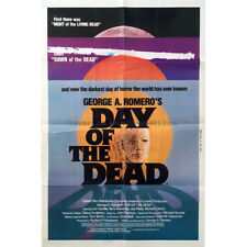 THE DAY OF THE DEAD Original Movie Poster  - 27x40 in. - 1985 - George A. Romero