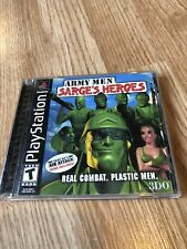 Army Men: Sarges Heroes - PS1 PlayStation 1 One Resurfaced Disk ES