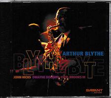 ARTHUR BLYTHE - BLYTHE BYTE   CD   SAVANT RECORDS  NEU&VERSCHWEISST-SEALED!