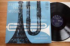 Purcell Corelli Torelli Festive Musica di tromba ZAGABRIA SOLISTI JANIGRO LP