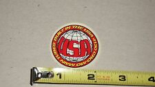 Old mid school NOS Built in the USA round decal 4130 Cro-mo main tubes bmx bike