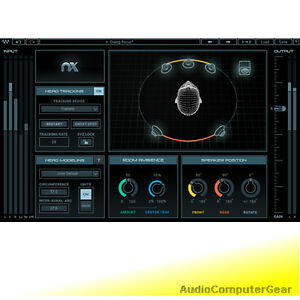Waves Nx - Virtual Mix Room Monitoring Plugin for Headphones Audio Software NEW