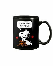 Snoopy Valentine Thinking Of You Valentine Cute Coffee Mug Tea Cup Gift
