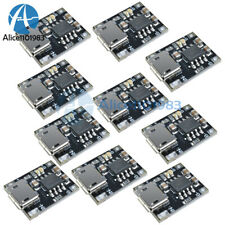 10Pcs Tc4056 Single Lithium Battery Charger Power Supply Module Charging Board