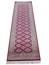 Burgundy 2.5 x 8 best stair runners Bokhara Handmade 2' 8'' x 8' 1'' Runner