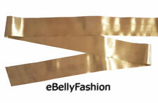 "2.5"" Wide sari border zari Golden color Decorative ribbon trim. 9 Yard India"