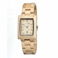 Earth Watches Cork  SEGO01 Testa Series Tan Wood Eco Friendly Watch $199