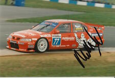 Matt Neal Hand Signed 6x4 Photo Nissan Touring Cars.