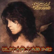 Ozzy Osbourne Guitar & Bass Tab NO MORE TEARS Lessons on Disc