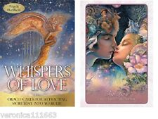 Whispers of Love NEW 50 cards Inspirational oracle A. Hartfield Josephine Wall