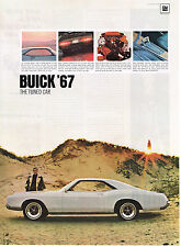 Vintage 1967 Magazine Ad Buick '67 The Tuned Car Proves Again It Is Tops
