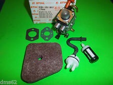 STIHL CARBURETOR / FUEL LINE KIT FS90 FS100 FS110 KM90-110 TRIMMERS 41801200611