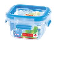 Emsa Clip & Close 3D PERF Clean Fresh Seal Container Freshness Box Storage Jar