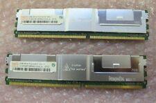 Original Dell 4 GB de memoria PowerEdge 2900 Pc2-5300f 2x2 Gb
