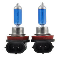 2PCS H11 12V 55W Super Bright Ultra White Fog Halogen Bulb Car Head Light HO