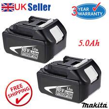 2x 5.0AH 18V Battery For Makita BL1850 BL1840 BL1860 LXT Lithium Ion Cordless UK