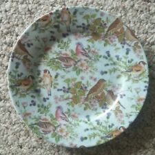"Formalities by Baum Bros. Decorative Bird Plate 7 3/4"" Mint"