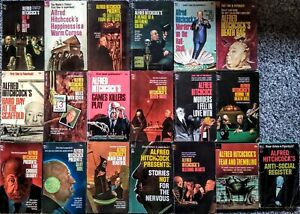 Alfred Hitchcock Book Lot of 19