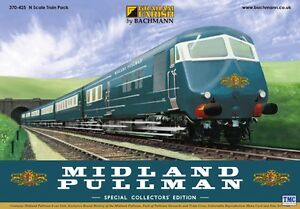 370-425 Graham Farish N Gauge Midland Pullman Train Pack