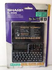 Sharp EL-6690B Electronic Organizer 64KB Memory 3 Line Display Memo Master NRFB