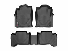 WeatherTech FloorLiner Mat for Toyota Tacoma Double Cab - 2005-2007- Black