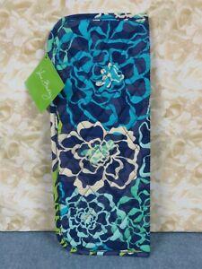 Vera Bradley Katalina Blues Curling & Flat Iron Cover #15976-275 Blue Multi-New