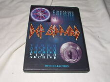 DEF LEPPARD Visualize/Video Archive (DVD, 2001) Hard Rock of Ages Live Concerts+