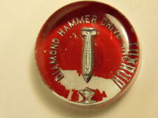Vintage Diamond Hammer Drive Anchor glass advertising paperweight