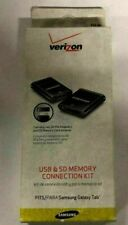 Verizon USB & SD Memory Connection Kit for SAmsung Galaxy Tab - black