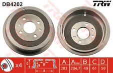 DB4202 TRW Brake Drum Rear Axle