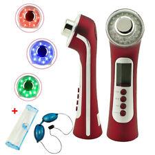 5in1 3MHz Photon Licht Ultraschallgerät Gesicht Schönheit Hautpflege für Körper