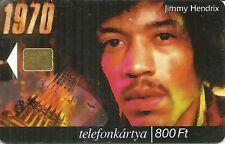 RARE / CARTE TELEPHONIQUE - JIMI HENDRIX / PHONECARD TELEPHONE CARD