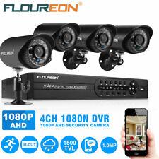 5-in-1 4Ch Cctv Security Camera System Hdmi 1080N Outdoor Video Surveillance Dvr