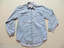 """Levi's® Jeans Hemd Jeanshemd Gr. M, mit """"Richtigen"""" Knöpfen, Western Denim RAR !"""