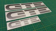 Vauxhall Nova GTE decals stickers 1.6  Mk1 restoration replacement any colours