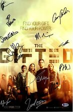 """THE GIFTED Signed CAST POSTER """"12 Signatures"""" SDCC X-Men BECKETT BAS #A12090"""