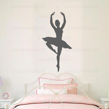 BALLERINA Wall Decal Stickers Home room Decor Art Removable Type 2 (M)