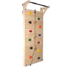 Kletterwand Sprossenwand Turnwand Klettergerüst für Kinder aus Holz 205cm hoch