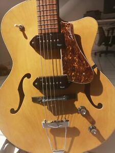 GODIN 5TH AVENUE KINGPIN CW2 P90 NT Cutaway Jazz-Gitarre aus Kanada Sehr Selten