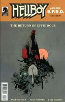Hellboy And The BPRD Return Of Effie Kolb #1 Mike Mignola Cover Dark Horse