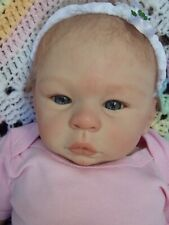 "🌼 RARE HTF 20"" Reborn Baby Girl Doll was MICHAEL by Laura Tuzio Ross 🌼"