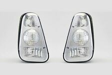 Mini One Cooper R50 R53 01-04 Clear Rear Lights Lamps Pair Set Driver Passenger