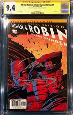 FRANK MILLER & JIM LEE SIGNED All Star Batman & Robin #1 CGC 9.4 Special Edition