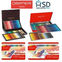 Caran d'Ache Supracolor Professional Artist Soft Water Soluble Colour Pencil Set