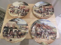 COUNTRY INNS a collection of plates by ROYAL DOULTON - please choose from menu