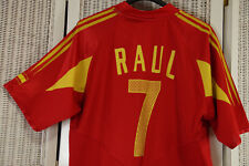 ADIDAS Spain España Raúl #7 XL Football Shirt 2004 2005 2006 Home Soccer Jersey