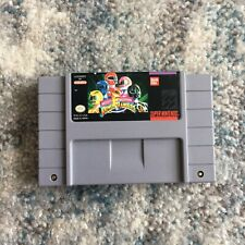 Mighty Morphin Power Rangers (Super Nintendo SNES, 1994) Authentic, Tested